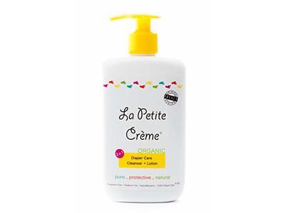 La Petite Creme Organic French Diapering Lotion, 8 oz