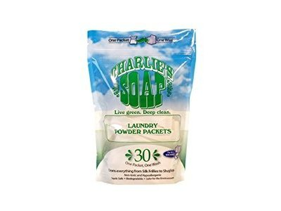 Charlie's Soap Laundry Powder Packets, 30 Count (Pack Of 6)