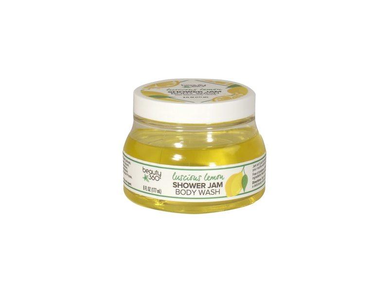 Beauty 360 Luscious Lemon or Strawberry Shower Jam Body Wash