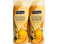 Softsoap Moisturizing Body Wash, Coastal Sunrise with Citrus Blossom, 15 fl oz - Image 2
