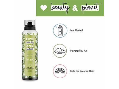 Love Beauty and Planet Hair Spray, Coconut Milk & White Jasmine, 6.8 oz - Image 7