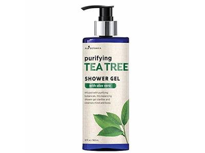 Pur Botanica Purifying Tea Tree Shower Gel With Aloe, 32 fl oz/960 mL
