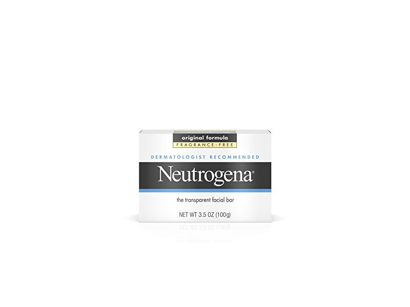 Neutrogena Facial Cleansing Bar, Fragrance Free, 3.5 oz
