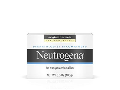 Neutrogena Facial Cleansing Bar, Fragrance Free, 3.5 oz - Image 1