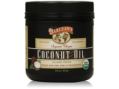 Barlean's Organic Virgin Coconut Oil, 16 Fl Oz Jar
