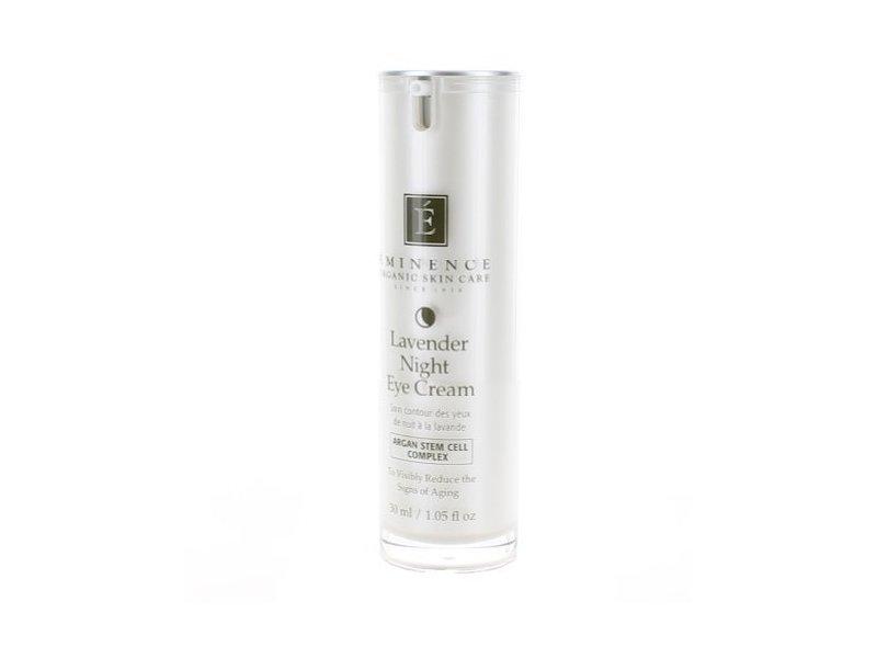 Eminence Organic Skincare Lavender Age Corrective Night Eye Cream, 1.05 Ounce