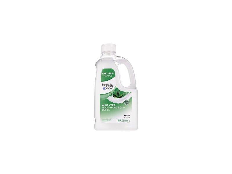 Beauty 360 Aloe Vera Liquid Hand Soap Refill