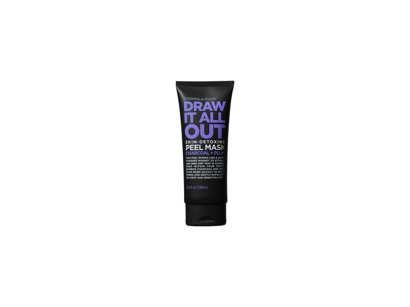 Formula 10.0.6 Draw It All Out Skin-Detoxing Charcoal + Plum Peel Mask