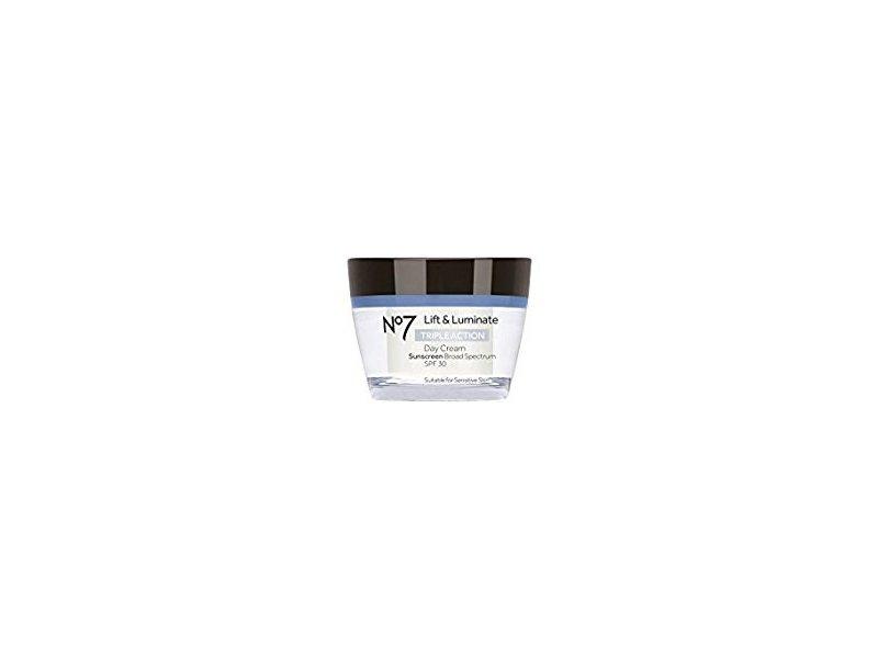 No7 Lift & Luminate Triple Action Day Cream, SPF30, 50ml