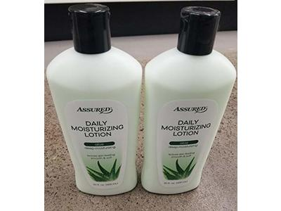 Assured Daily Moisturizing Lotion, Aloe, 20 fl.oz.