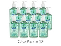 PURELL Advanced Instant Hand Sanitizer with Aloe, 12 oz Bottle - Image 3