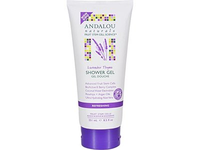 Andalou Naturals Lavender Thyme Shower Gel, 8.5 fl oz