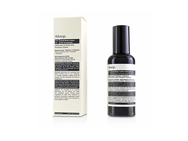 AESOP Avail Body Lotion, SPF 50, 150ml