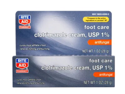 Rite Aid Clotrimazole 1% Anti-fungal Cream,1 oz