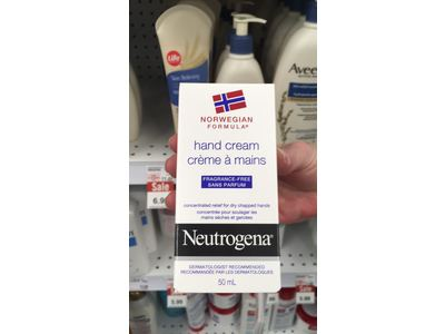 Neutrogena Norwegian Formula Hand Cream, Fragrance-Free, 50 mL - Image 3