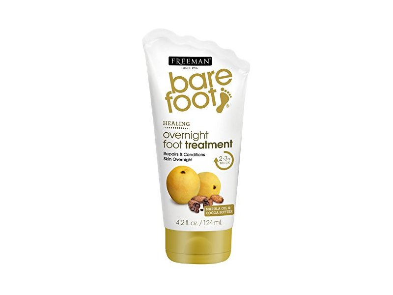 Freeman Bare Foot Overnight Foot Treatment, 4.2 Ounce