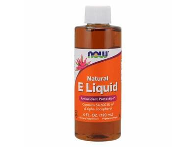 Now Foods Vitamin E Liquid, 54600 IU DA, 4 OZ