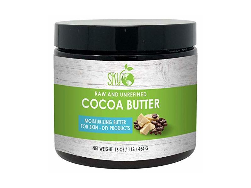 Sky Organics Raw and Unrefined Cocoa Butter, 16 oz