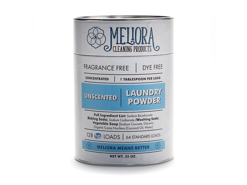 Meliora Laundry Powder, Unscented, 35 oz