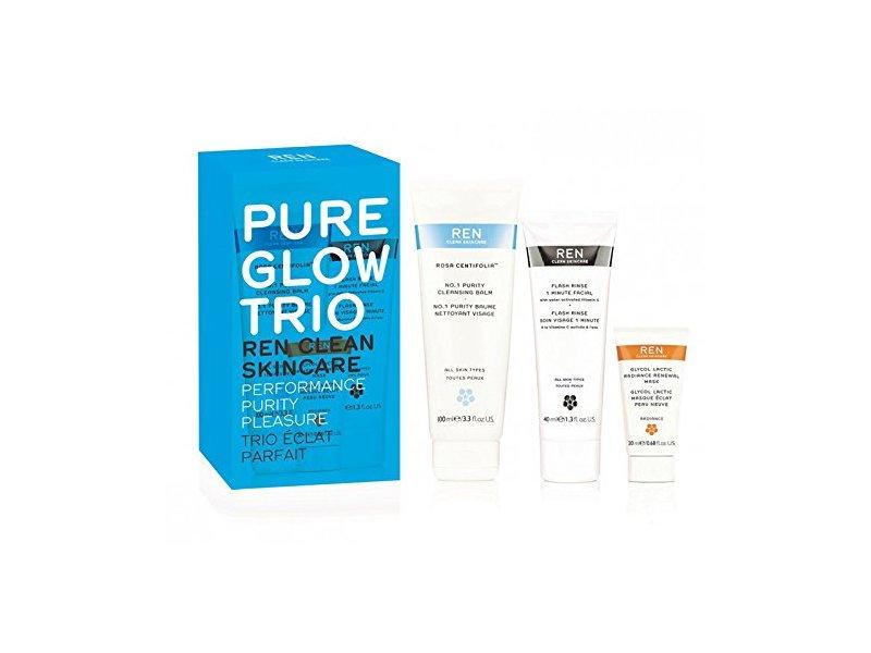 REN Pure glow trio set, 5.4 Fluid Ounce