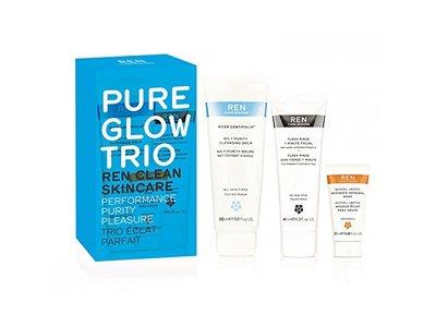 REN Pure glow trio set, 5.4 Fluid Ounce - Image 1