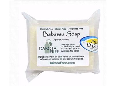Dakota Free Babassu soap (Head to Toe Shampoo), 4.5 oz