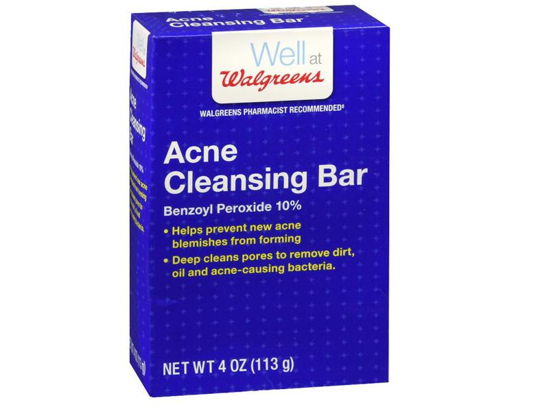 Walgreens Acne Cleansing Bar, 4 oz