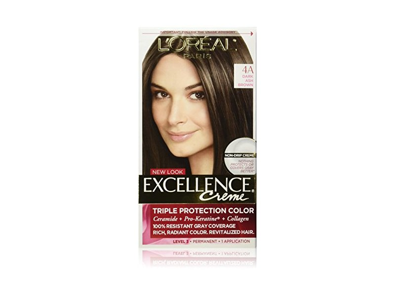 Loreal Excellence Creme 4a Dark Ash Brown Ingredients And Reviews