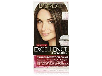 L'Oreal Excellence Creme, 4A Dark Ash Brown