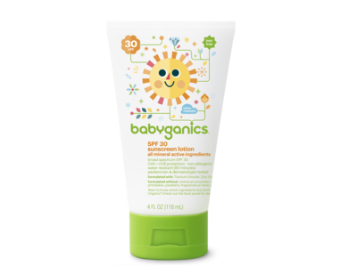 Babyganics Pure Mineral Sunscreen, 30 SPF, 4 fl oz - Image 3