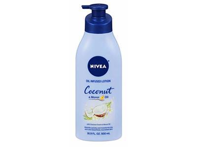 Nivea Lotion Coconut & Monoi Oil Infused, 16.9 Ounce