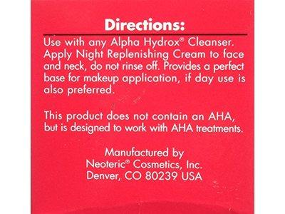 Alpha Hydrox Night Replenishing Creme - 2 oz - Image 5
