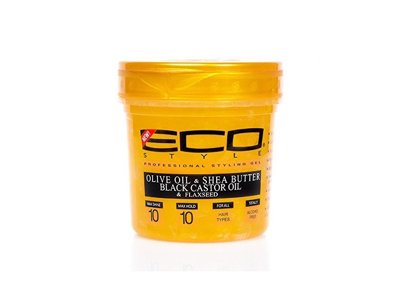 Eco Style Gold Gel, Olive Oil & Shea Butter & Black Castor Oil & Flaxseed, 16oz