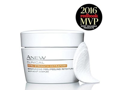 Avon ANEW CLINICAL Extra Strength/Extrafort Retexturizing Peel, 30 Pads