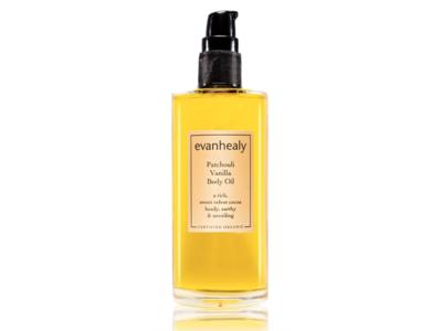 Evanhealy Patchouli Vanilla Body Oil, 3.3 fl oz/98 mL