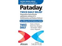 Alcon Pataday Twice Daily Relief 5ml, 0.17 Fl Ounce - Image 9