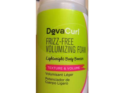 DevaCurl Frizz Free Volumizing Foam, 7.5 fl oz - Image 5