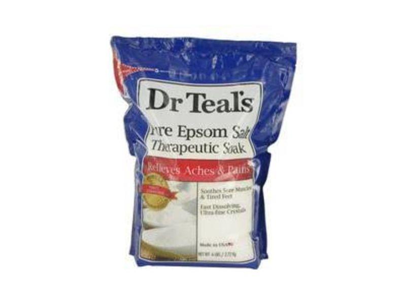 Dr. Teal's Pure Epsom Salt Therapeutic Soak, 6 lbs