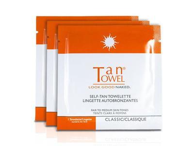 TanTowel Look Good Naked Self-Tan Towelette, 0.50 fl oz (50 count)