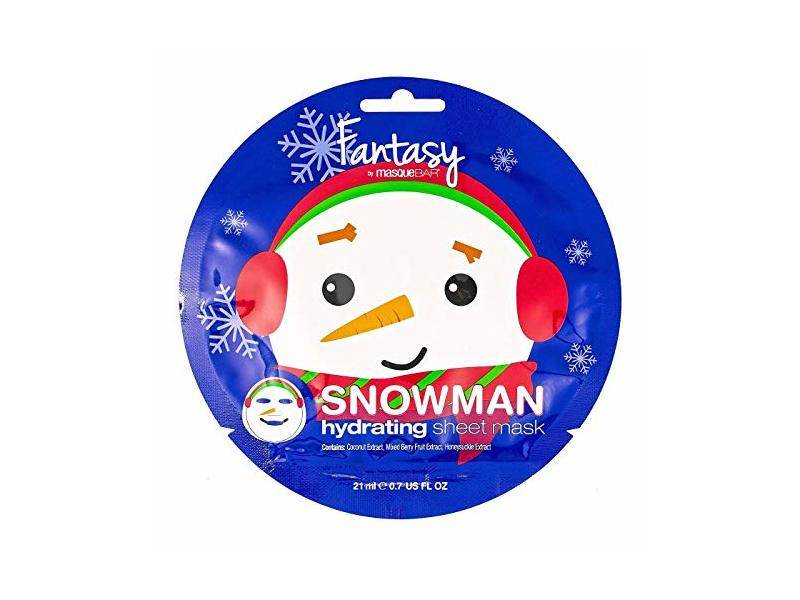 Masque Bar Snowman Sheet Mask, 1 count