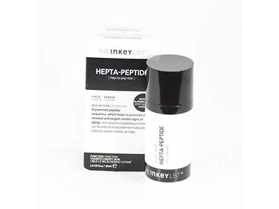The Inkey List Hepta-Peptide Face Serum 1 oz