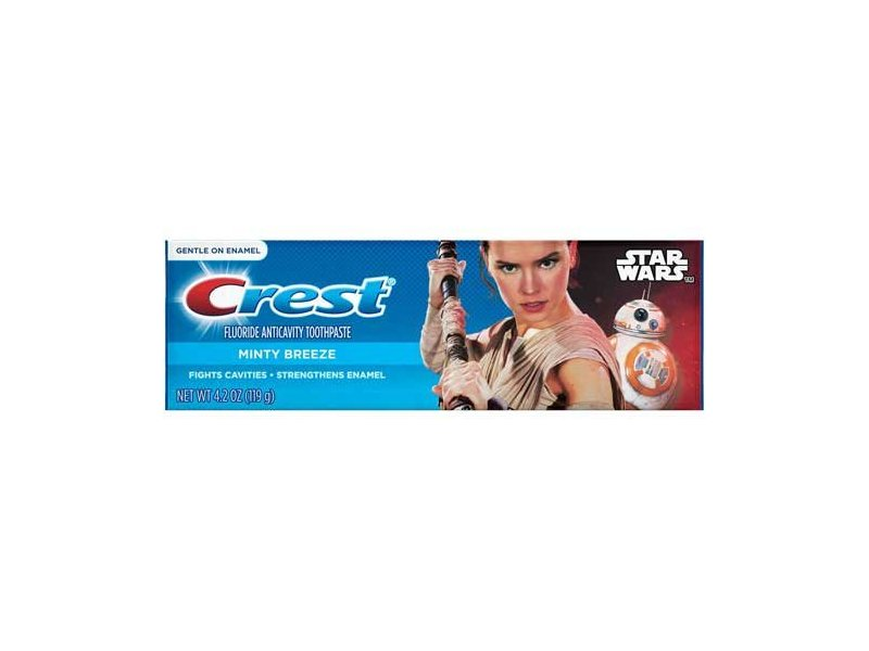 Crest Pro Health Flex Pack Star Wars Minty Breeze Toothpaste, 4.2 Ounce