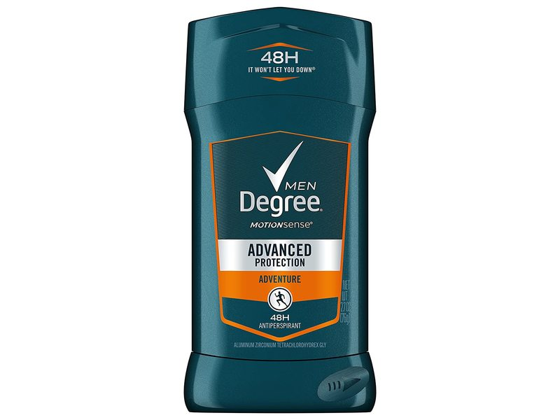 Degree Men Adventure Advanced Protection Antiperspirant Deodorant Stick, 2.7 oz/76 g