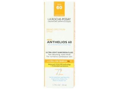 Anthelios Ultra Light SPF 60 Sunscreen