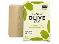 Peet Bros. Palm Oil-Free Olive Oil Bar Soap, Unscented, 5oz - Image 2