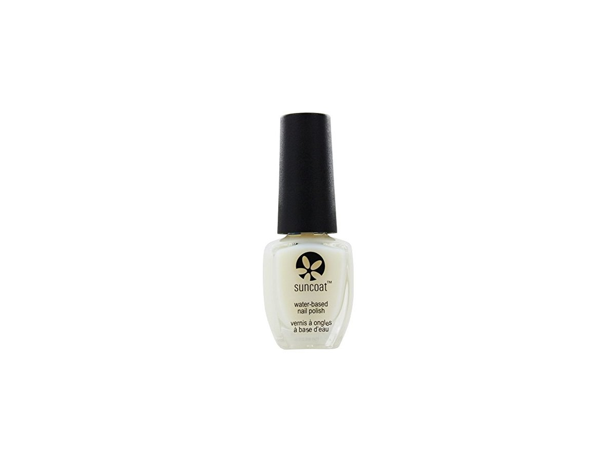 Suncoat Water Based Nail Polish Clear Top Coat 0 43 Oz Ingredients And Reviews
