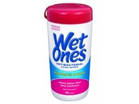 Wet Ones Antibacterial Hand Wipes - Fresh Scent: 40 Count Canister - Image 2