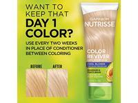 Garnier Nutrisse Color Reviver Color Hair Mask, Cool Blonde, 4.2 fl oz/125 mL - Image 7
