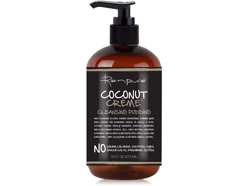 Renpure Coconut Creme Cleansing Pudding, 16 fl oz/473 mL (Pack of 2)