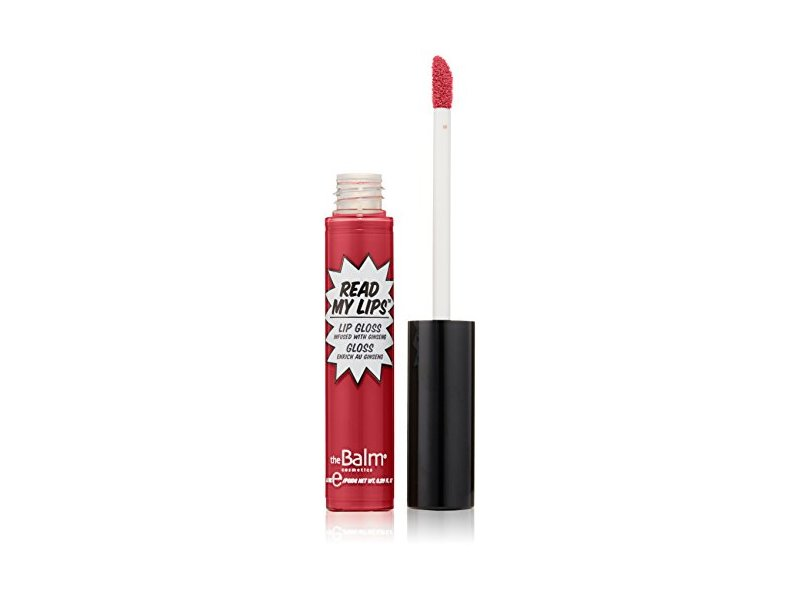 theBalm Read My Lips Lip Gloss, VA VA VOOM!, 0.299 fl oz